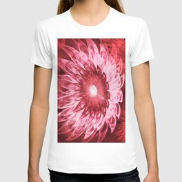 Fantasy Flowers Red T-shirt