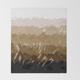 Shades of Sepia Throw Blanket