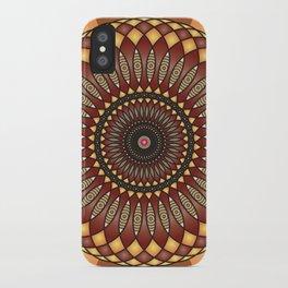 Inspiration Mandala - מנדלה השראה iPhone Case