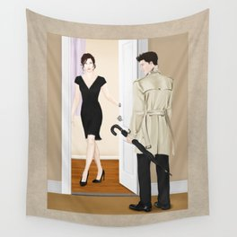 the steaks are at stake Wall Tapestry