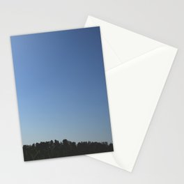 Clear blue sky Stationery Cards