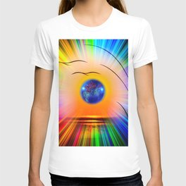 Abstract in perfection - Fertile Imagination Rose T-shirt