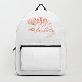 Chameleon Art Backpack