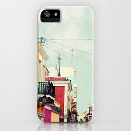Colorful Buildings of Old San Juan, Puerto Rico iPhone Case