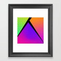 80's grade Framed Art Print