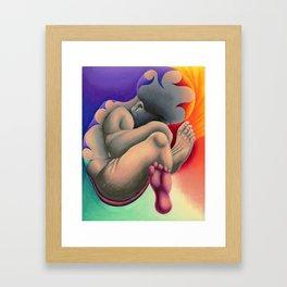 Rainbow Baby Framed Art Print