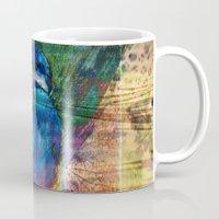 gem Mugs featuring River Gem by Dominique Gwerder