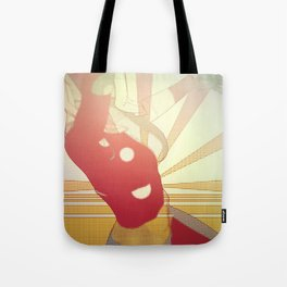 Hurry On Sundown Tote Bag