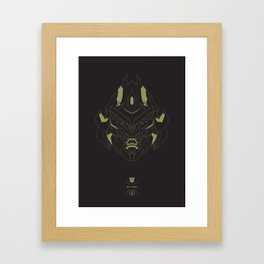 Transformers - Megatron Framed Art Print