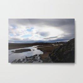 Thingvellir National Park - Iceland Metal Print