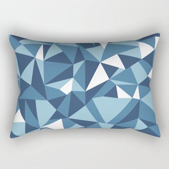 Ab Blues Rectangular Pillow
