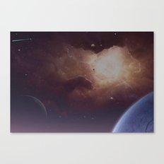 Star formation Canvas Print