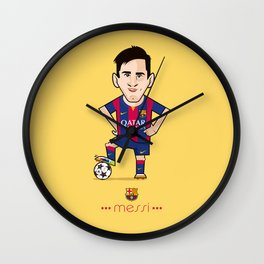 Lio Messi - Barcelona v1 Wall Clock