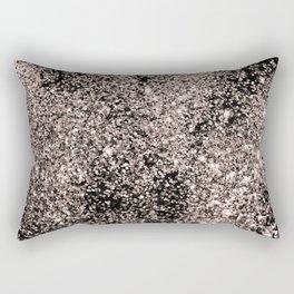 Sparkling Rose Gold Glitter #1 #shiny #decor #art #society6 Rectangular Pillow