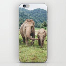 Elephant Love iPhone Skin