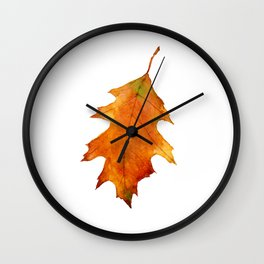 Oak Leaf 2 Wall Clock