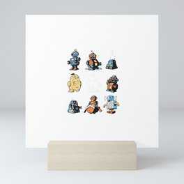 What Rhymes With Robot Mini Art Print