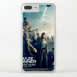 maze runner the death cure Clear iPhone Case