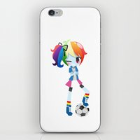 mlp iPhone & iPod Skins featuring MLP - Rainbow Dash by Choco-Minto