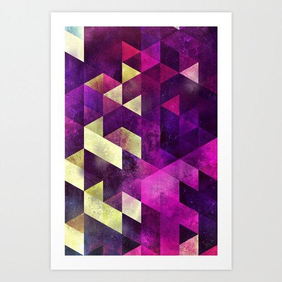 fykk yrly Art Print