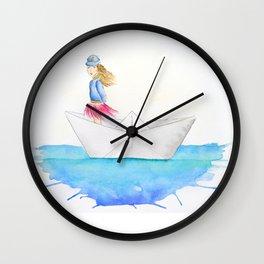 My boat, my rules Wall Clock