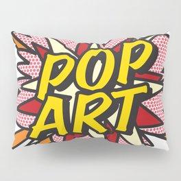 Comic Book Pop Art Pillow Sham