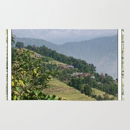 PASTORAL VIEW NEPAL FOOTHILLS Rug