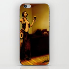 """The bad customer"" iPhone Skin"
