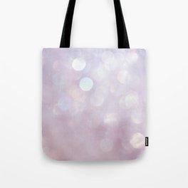 Bokeh Series - English Lavender Tote Bag