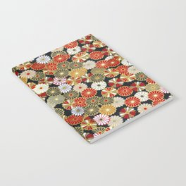 Golden Chrysanthemums Notebook