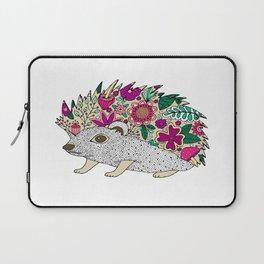 Woodland Hedgehog Illustration Laptop Sleeve
