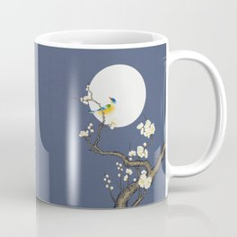Plum blossoms, bird and the moon Type D (Minhwa: Korean traditional/folk art) Coffee Mug