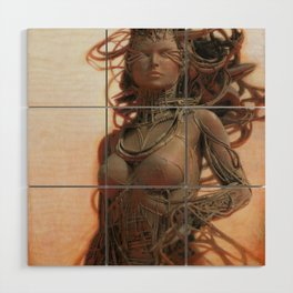 Gynoid IV Wood Wall Art