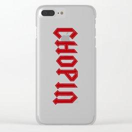 Rock Chopin Clear iPhone Case