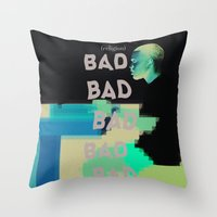 religion Throw Pillows featuring Bad Religion. by indefinit
