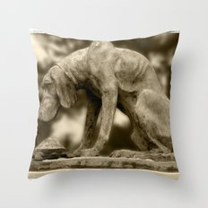 DOG&TURTLE Throw Pillow
