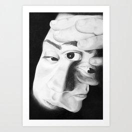 Frayed Art Print