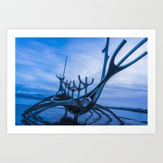 The Sun Voyager Art Print