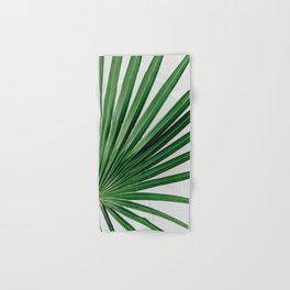 Palm Leaf Detail Hand & Bath Towel