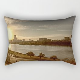 Charlie The River Rectangular Pillow