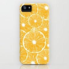 Orange slices pattern design Slim Case iPhone (5, 5s)