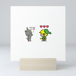 Heart Seeker Mini Art Print
