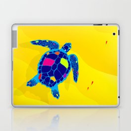 Paper Craft Sea Turtle Laptop & iPad Skin