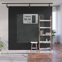 Retro 80's objects - Diskette Wall Mural