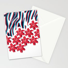 Lillys and Zebras Stationery Cards