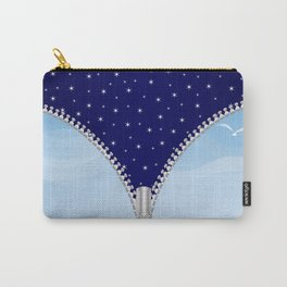Zipper Day And Night Carry-All Pouch