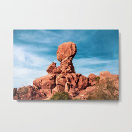 Balanced Rock. Arches National Park Metal Print