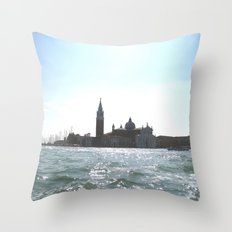 venice. Throw Pillow