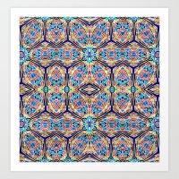 Too long mosaic Art Print