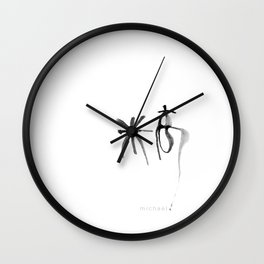 NAME: Michael in Cantonese Translation Wall Clock
